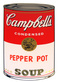 Warhol andy campbells soup pepper pot medium