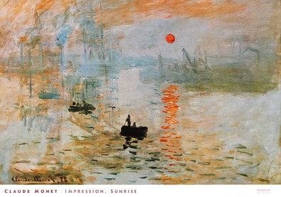 Claude Monet Impression, Sunrise