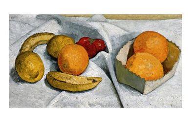 Paula Modersohn-Becker Stillleben mit Orangen, Bananen, Zitronen und Tomate