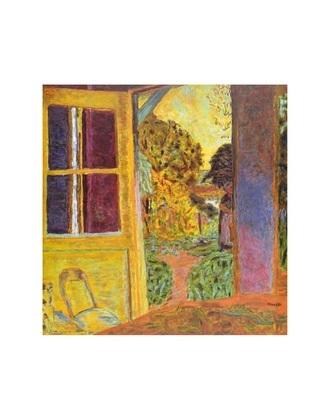 Pierre Bonnard Zum Garten geoeffnete Tuer
