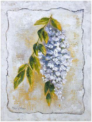Rian Withaar 4er Set 'White Laburnum' + 'Yellow Laburnum' + 'Thistle Bud' + 'Pineapple Bloom'