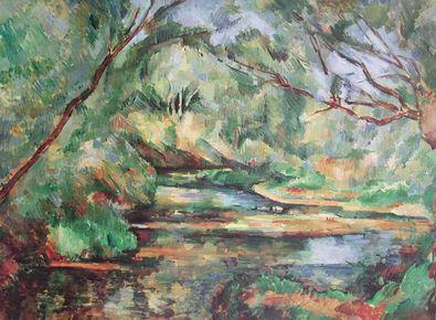 Paul Cezanne Der Bach