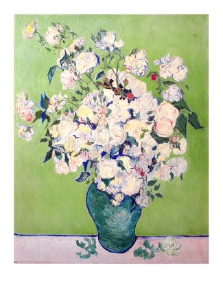 Vincent van Gogh Weisse Rosen