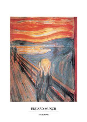 Edvard Munch Der Schrei (70x50cm)
