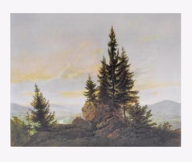 Caspar David Friedrich Ausblick ins Elbtal