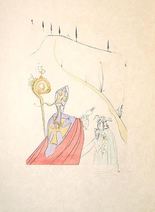 Salvador Dali 674 Galas göttliche Liebe (1974)