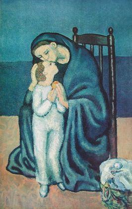Pablo Picasso Mutter und Kind