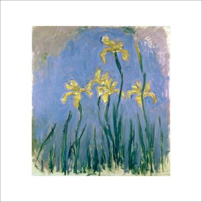 Claude Monet Les Iris Jaunes
