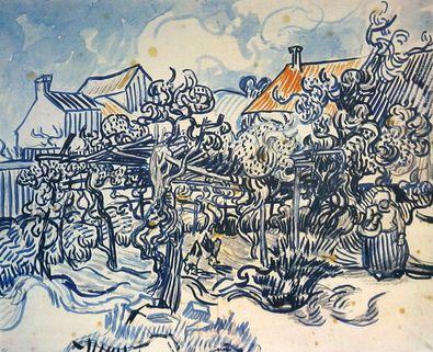 Vincent van Gogh Bauerngarten