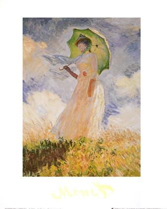 Claude Monet Donna con parasole I