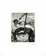 Marc Chagall Das Glueck und das kleine Maedchen