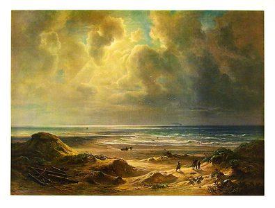 Christian E. B. Morgenstern An den Duenen der Nordsee (klein)