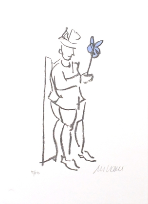 Armin Mueller Stahl Kompliment Blau