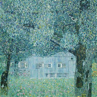 Gustav Klimt Oberoesterreichisches Bauernhaus  1911 1912