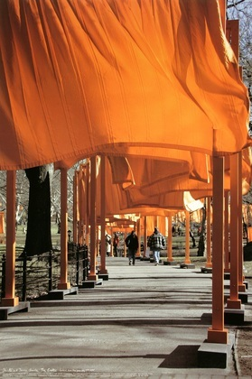 Christo und Jeanne-Claude The Gates, Foto 26 von Wolfgang Volz