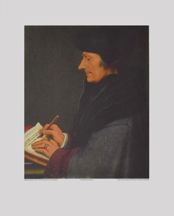 Holbein hans erasmus von rotterdam large