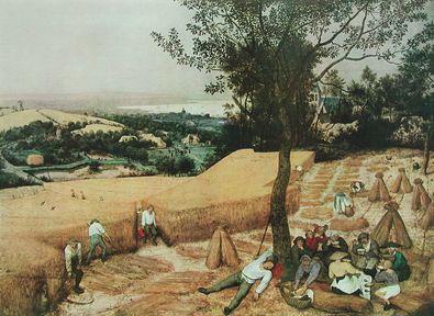 Pieter Brueghel Der Sommer (Die Kornernte)