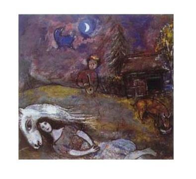 Marc Chagall Laendliches Idyll