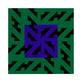 Reinshagen Zet-Quadrat (handsigniert)