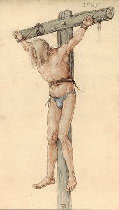 Albrecht Duerer Der boese Schaecher am Kreuz