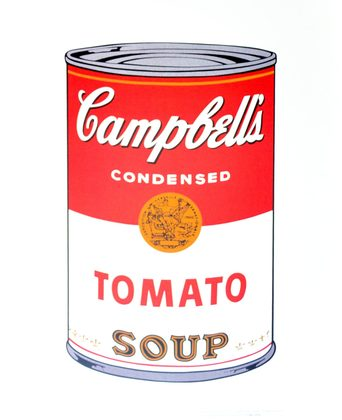 Andy Warhol Campbell's Soup I Tomato 1968
