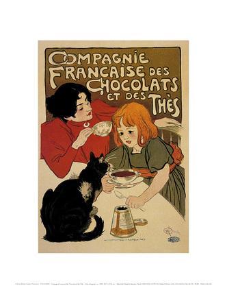 Theophile Alexandre Steinlen Compagnie Francaise des Chocolats, 1895