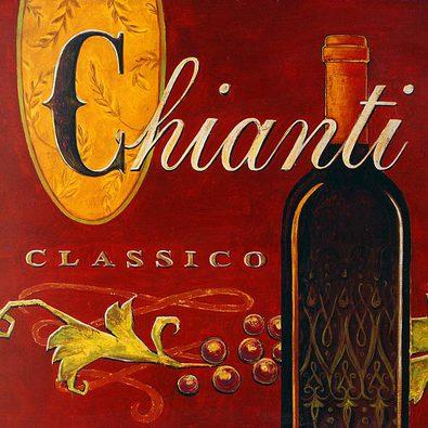 Angela Staehling 4er Set 'Chianti' + 'Antipasto' + 'Cucina Roma' + 'Tuscan Olivia'