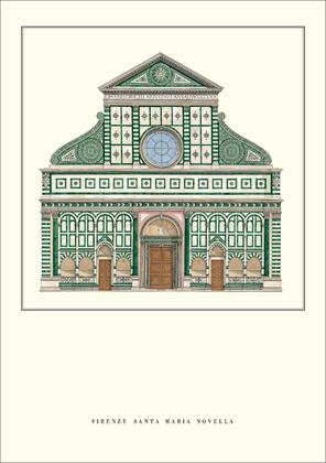 Leon Battista Alberti Florenz, Santa Maria Novella