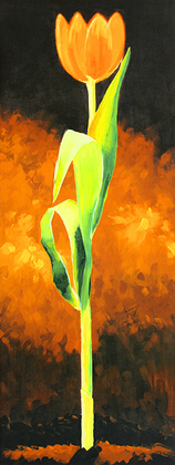 Karsten Kirchner 3er Set 'Gelbe Tulpe' + 'Rote Tulpe' + 'Weisse Tulpe'
