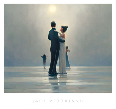Jack Vettriano Dance me to the End of Love