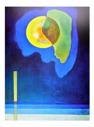 Wassily Kandinsky Gelber Kreis