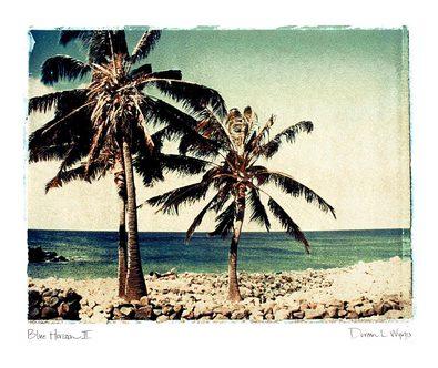 Doreen Wynja 2er Set 'Blue Horizon II + III'