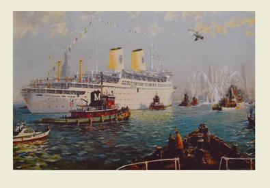 Jack Lorimer Gray Luxusdampfer Gripsholm
