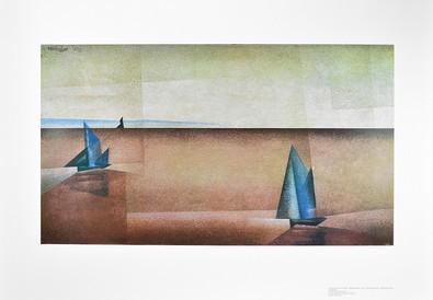 Lyonel Feininger Regenklarheit
