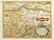 Ortelius abraham tipus vindeliciae sive utriusque bavariae secundum map of vindelica bavaria medium