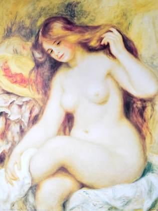 Auguste Renoir Nudo femminile III