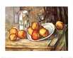 Cezanne paul kettle glass and plate with fruit 44206 medium
