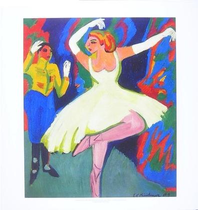 Ernst Ludwig Kirchner Russische Tänzerin