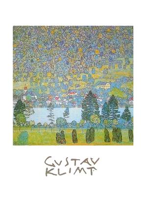 Gustav Klimt Gebirgsabhang in Unterach am Attersee