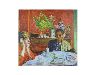 Pierre Bonnard The Dessert or after Dinner 1920