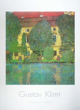 Gustav Klimt Schlosskammer am Attersee