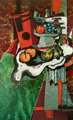 Georges Braque Der Marmortisch