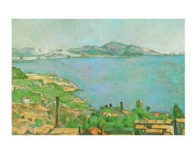 Paul Cezanne Der Golf in Marseille