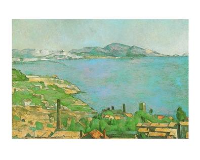 Cezanne paul der golf in marseille large