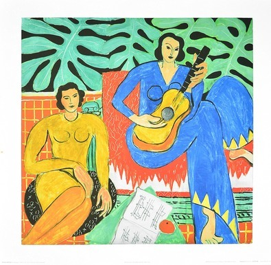 Henri Matisse La Musique