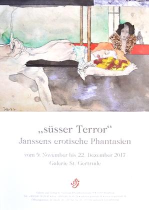 """Horst Janssen """"suesser Terror"""""""