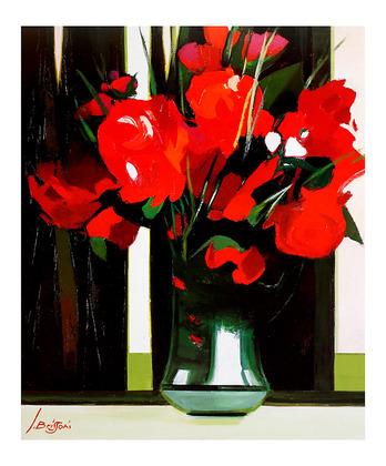 Jean Brissoni Blume mit Vase II