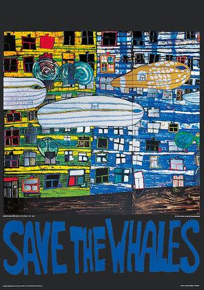 Friedensreich Hundertwasser Save the whales