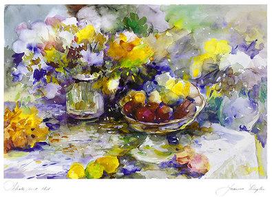 Jeanne Luyten Schale mit Obst (1)