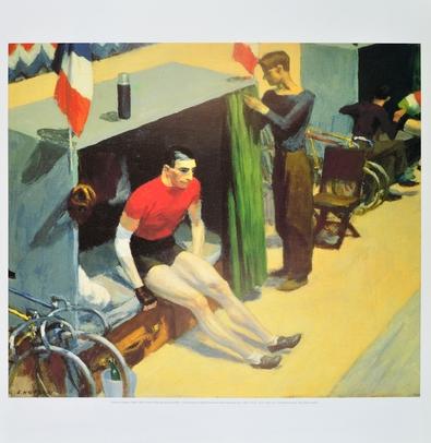 Edward Hopper Radfahrer beim Sechstagerennen